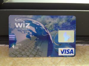 China New VISA Classic Card / Plastic Debit Card with High-tech Printing Quality on sale
