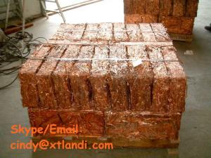 China lower price Copper wire scrap China supplier high purity 99.9% copper millberry on sale
