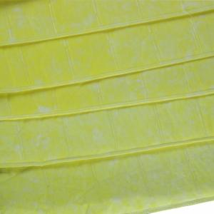 China Ultrasonically Welded Bag Air Filters 0.5um Porosity With Yellow Color on sale