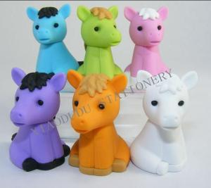 China cartoon eraser animal shaped on sale