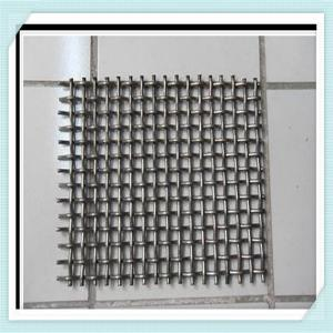 China 8mm opening galvanized crimped wire mesh/Super quality Slot Sieve Screen Mesh/Stailess Steel Windows Screen Wire Mesh Wh on sale