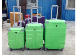 China ABS Colorful Hard Case Spinner Luggage Sets With 4 Single Universal Wheel on sale