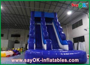 China 0.55mm PVC Inflatable Water Slide L6 x W3 x H5m Waterproof 3 Layers on sale