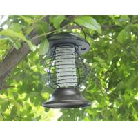 Solar Mosquito Repeller Zapper Killer LED Light Fly Bug Insect Repellent Lamp