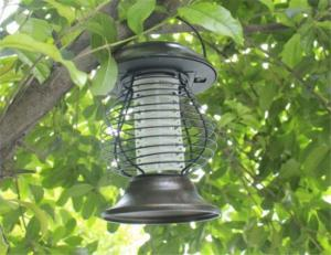 China Solar LED Garden Light Lamp Mosquito Insect Kill Bugs Pest Killer on sale