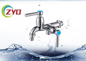 China Polished Finish Polo Water Taps , 5 - 10kg Water Pressure Washing Machine Tap Set on sale