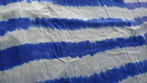 China Silk Cotton Tie Dye Fabric on sale