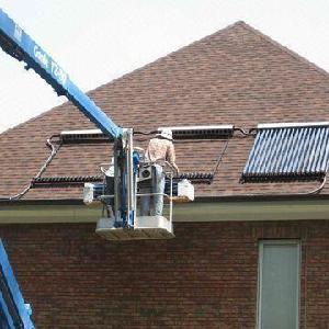 China Heat Pipe Solar Collector With Solar Keymark EN12975, SRCC, CE (SA) on sale