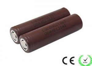 China High Drain LG HG2 18650 Cylindrical Lithium Battery 3.7V 3000mah , 20A Discharge on sale