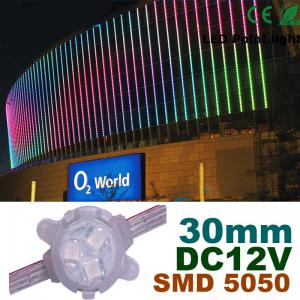 China 30mm DC12V RGB LED Pixel Module Full Color For Building Decoration on sale
