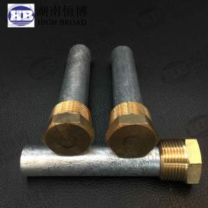 China ANODE 194-CME4 SIZE 3/4X3-3/8 PLUG 3/4 PIPE UNC 1/2 PENCIL ZINC ENGINE BOAT on sale