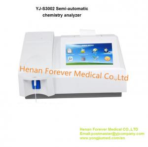 China Srilanka Popular Semi-Automatic Biochemistry Biochemical Analyzer (YJ-S3002) on sale
