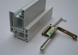China White UPVC Door Profiles Window Components Assembled with AAMA certificate on sale
