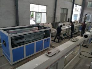 China High Output pvc plastic extrusion line , pvc pipe production line on sale