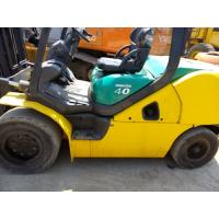 China Used Komatsu Forklift 4 Ton FD40, Diesel Engine Forklift Sale on sale