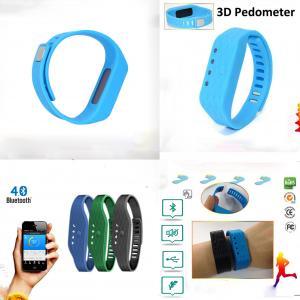 China Pedometer Bracelet Smart Wristband Bluetooth 4.0 Calorie Activity Counter Fitbit Flex Similar WP808 on sale