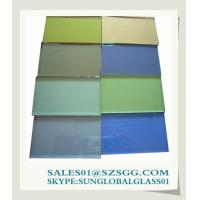 China colored tinted glass suppliers on sale