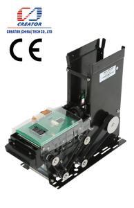China DC 24V Magnetic Card Dispenser For Access Control System , RS-232 Smart Card Dispenser on sale