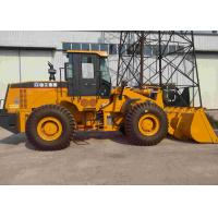 2.5-4.5 CBM XCMG Wheel Loader 5 Tons Operation With Weichai Engine ISO9001 Approved
