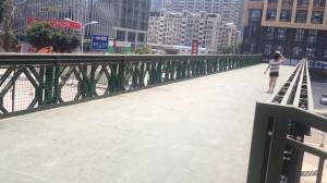 China HD200 Mabey Temporary Steel Truss Bridge High Strength Bailey Bridge on sale