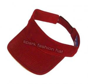Quality Blank sun visor hat for sale