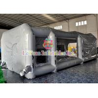 Customized Mobile Automatic Inflatable Spray Paint Booth / Car Tent Cover