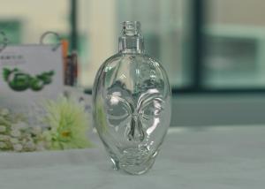 Quality Skull Glass Luxury Wine Bottle for sale