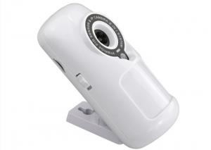 China Rechargeable Battery Powered PIR Motion Detector Wireless 433MHZ IP Camera on sale