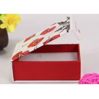 China Luxury Printed Magnetic Gift Box / Retail Packaging Boxes Book Shape on sale