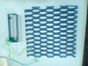 China High Temperture Micro hole Expanded Metal Mesh For subway / tunnel / swimming pool on sale