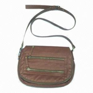 China Office Lady Synthetic Leather Cross Body Bags For Spring / Summer on sale
