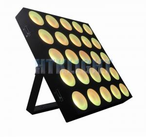 China Powercon In / Out Stage Effect Light , 3in1 25*9W  LED Matrix Light 3 Degree Beam Angle on sale