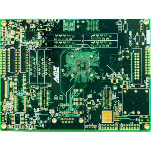 China Quick Turn Custom PCB Boards , FR4 1.6mm Thickness Plated Copper on sale