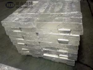 China Lingot d'alliage principal de lanthane de magnésium, lingot d'alliage principal de MgLa30% MgLa25% on sale