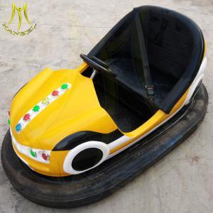 China Hansel amusement park games fiberglass kids electronic bumper car for sale on sale