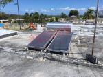 Hybrid Flat Plate Solar Water Heater , Solar Thermal Heating System Aluminum Frame