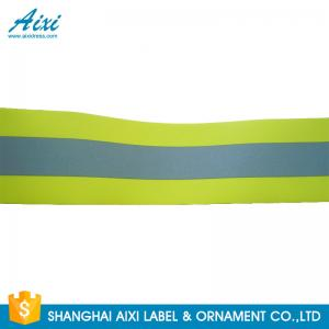 China Printed Retro Fire Resistant Reflective Fabric Tape For FR Safety Workwear on sale