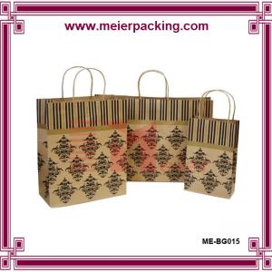 China Retail paper shopping bag for cloth/Durable fancy packaging bag factory price ME-BG015 on sale