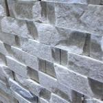 White Or Gray Cultured Slate Wall Stone Cladding Ledgestone Corrosion Resistant