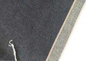Quality 11.43oz 36.7 Inches Indigo Selvedge Denim 68*48 Jeans Fabric W190202 Durable for sale