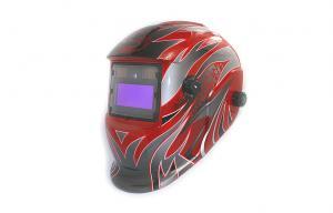 China Solar Battery Powered Auto-darkening Welding Helmet , PP Fire Resistant on sale