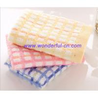 Personalized fancy colorful designer small hand towels for promotion