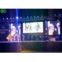 China P4.81 indoor advertising panel screen stage background led display on sale