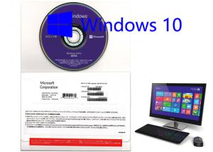 China Japanese Language OEM Win 10 Pro Retail Version with Product Sticker 1pk DSP on sale