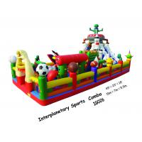China Interplanetary Sports Combo Inflatable Amusement Park With Inflatable Characters on sale