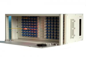 China High Reliability 4U Rack Mount Fiber Optic Distribution Frame Local Area Network on sale