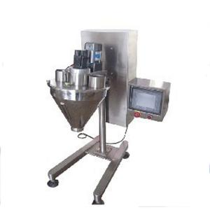 China Semi automatic filling machine auger filler on sale