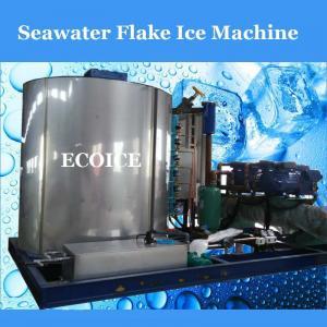 China 3 Tons on Board Using Flake Ice Maker/Seawater Flake Ice Machine on sale