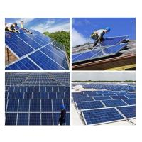 200 Watt Silicon Solar Panels Tempered Front Glass With Maximum Power Output