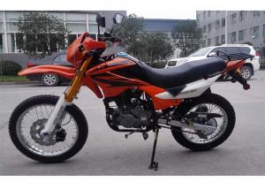 China Orange Gas Powered Dirt Bikes 250cc4 Stroke Singe Cylinder With 12L Tank on sale